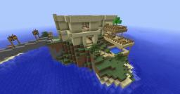 The Luxury Island Minecraft Map & Project