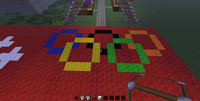 Olympic Village Minecraft Project