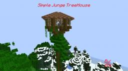 Simple Jungle Treehouse Minecraft Project