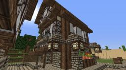 Minecraft medieval style house Minecraft Map & Project