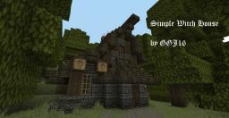 Witch house (fantasy builds series) Minecraft