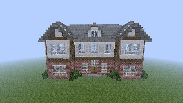 Brick mansion minecraft project for Huis maken minecraft