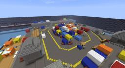 Battlefield 3 TDM map Noshahr canals Minecraft