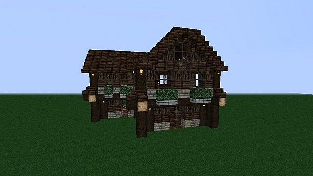 Minecraft House Cabin House Design And Decorating Ideas