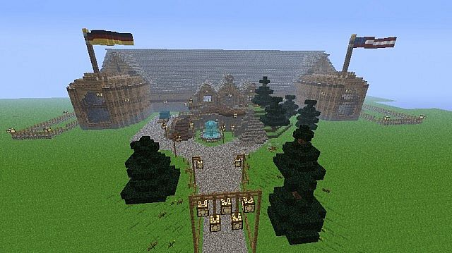 Log Mansion Minecraft Project