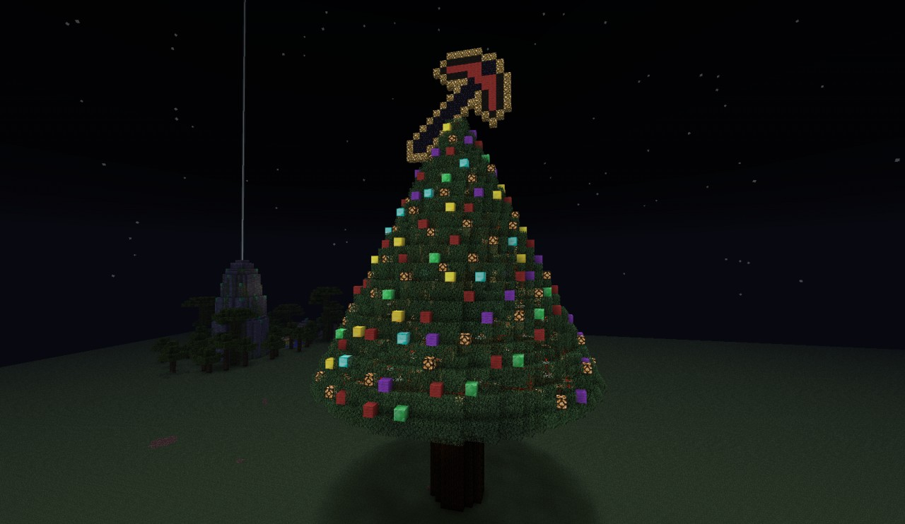 Giant Christmas Tree Minecraft Project