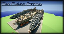 The Flying Fortress Minecraft Map & Project