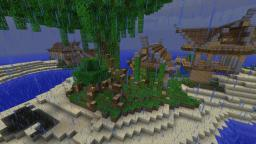 Keralis Inspired Rustic Island Minecraft Map & Project