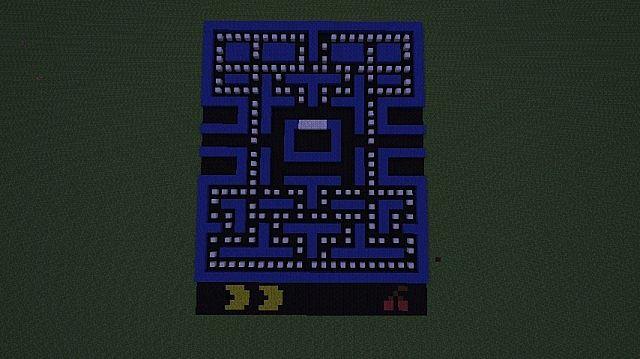 Pacman Minecraft Project