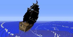 Black pearl tilted ! Minecraft Map & Project