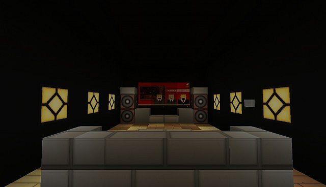 Automatic living room automatisches wohnzimmer minecraft project - Minecraft wohnzimmer ...