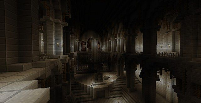 Tomb Raider: Croft manor. Minecraft Project
