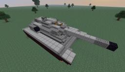 A-51E Hammer Tank (Steve-scale) Minecraft