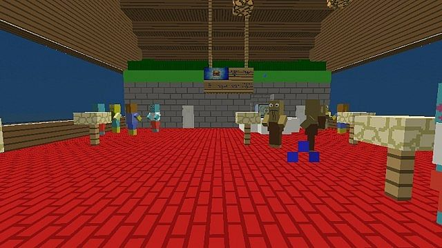 the krusty krab minecraft project
