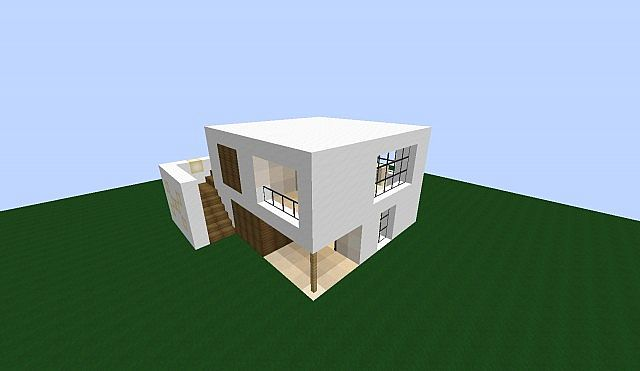 gallery for simple modern house minecraft