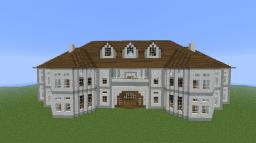 White & Grey Mansion Minecraft Map & Project