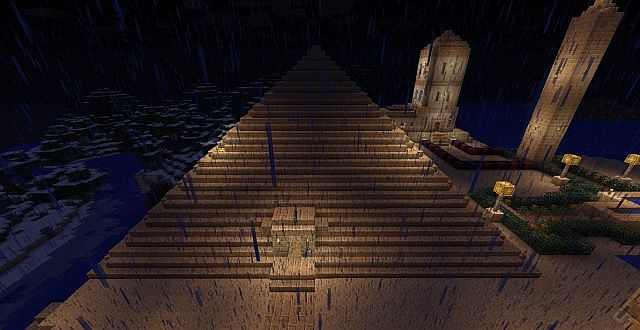 My map egypt with texture pack