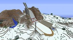 Ski Jumping Hill - 50% Minecraft Map & Project