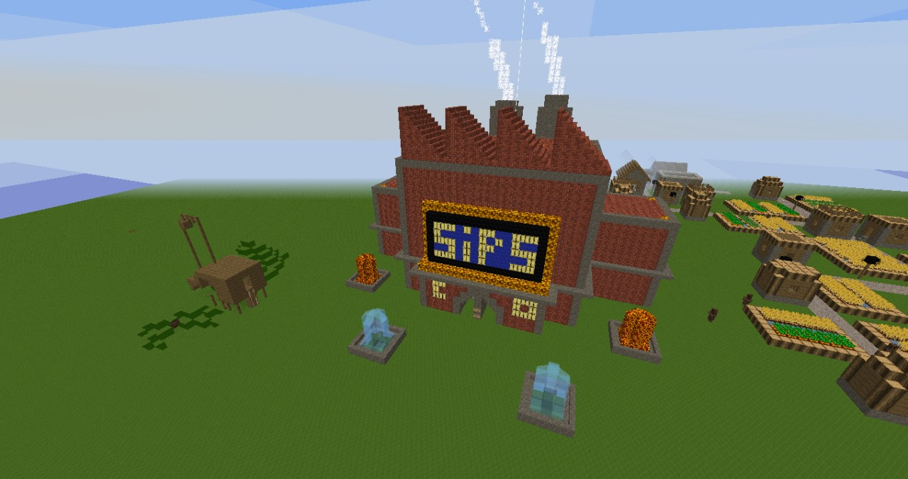 Factory and ExcavatorSips Minecraft