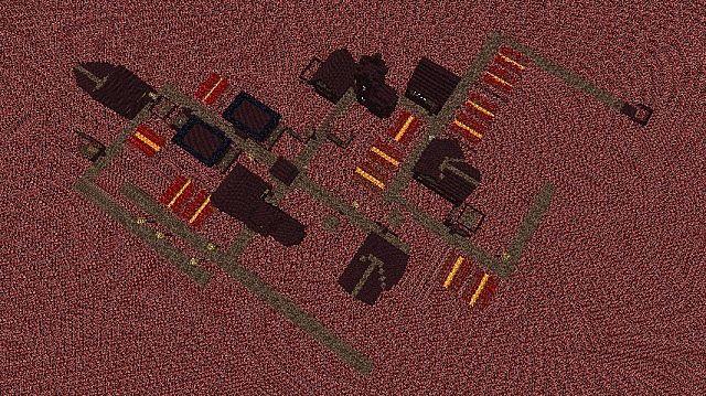 Netherflat Custom Village Superflat Presets And More Minecraft