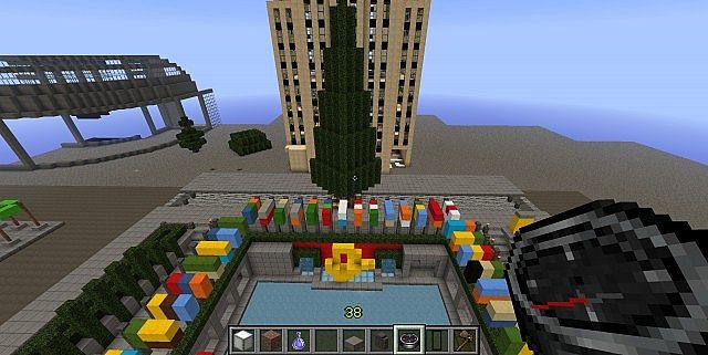 Guntana || Rockefeller Center Minecraft - 47.8KB