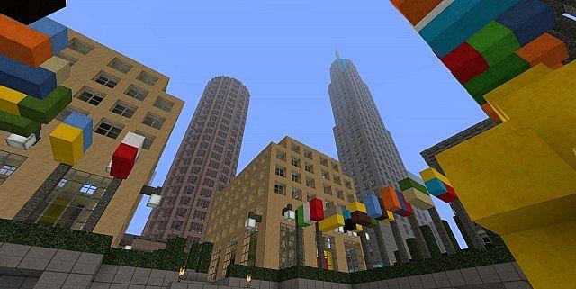 Guntana || Rockefeller Center Minecraft - 45.2KB