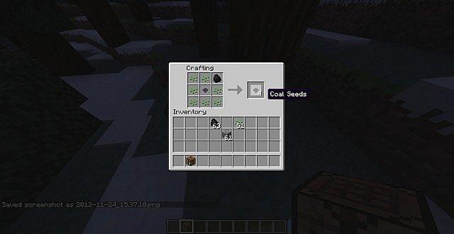 Making a coal ore seed