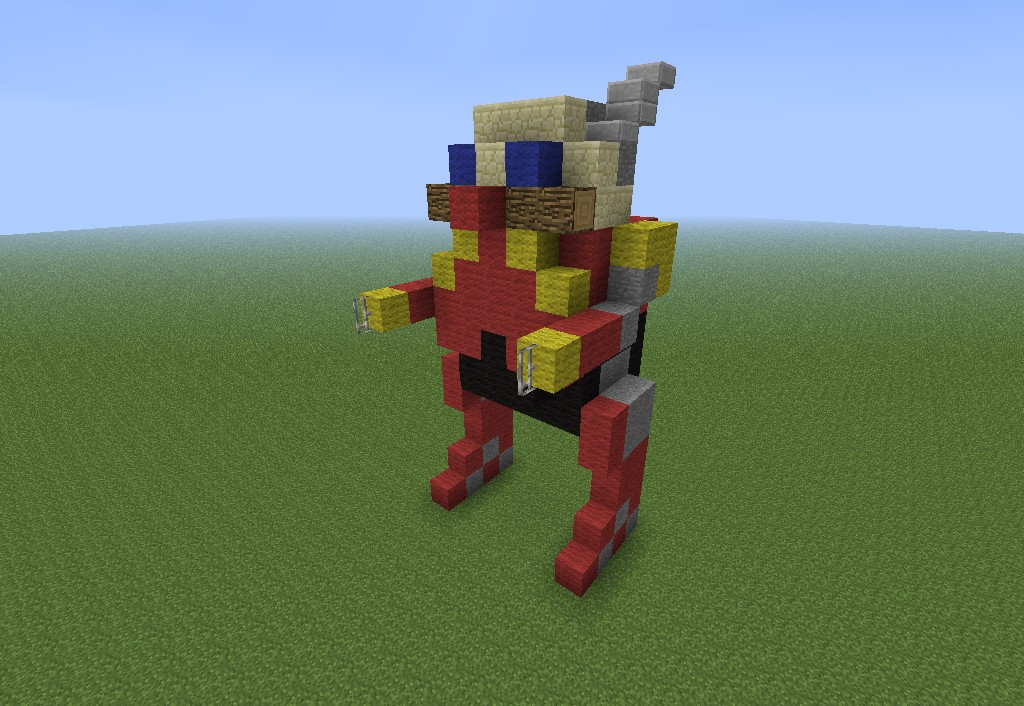 Death Egg Robot Minecraft Project