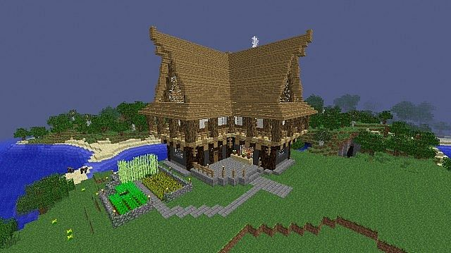 Hillside Manor Minecraft Project