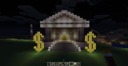 My Awesome bank! :) Not finished yet Minecraft Map & Project