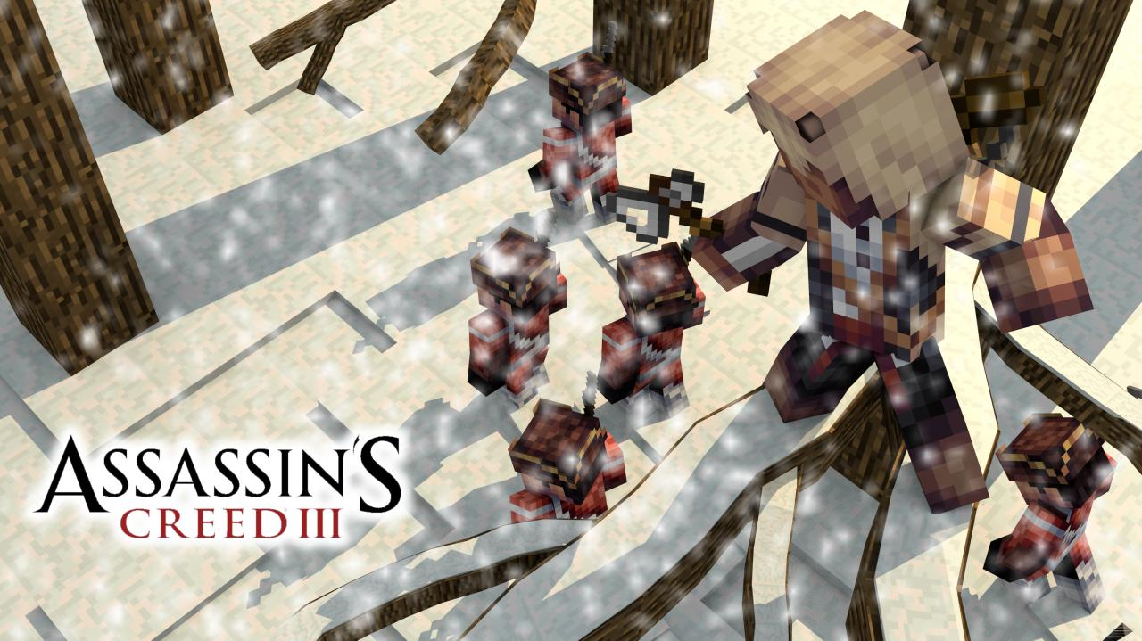 assassin's creed themed wallpapers minecraft blog