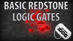 Basic Redstone Logic Gates Minecraft Map & Project