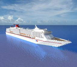 Carnival Spirit - Cruiseship Minecraft