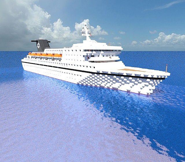 Cruise Ship Blueprints : Minecraft cruise ship blueprints fitbudha