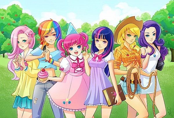 My little pony human version - photo#14