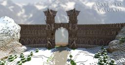Gates to Valgaad (Read description about the download) Minecraft Map & Project