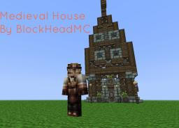 Medieval House {No WorldEdit/VoxelSniper used} Minecraft Map & Project