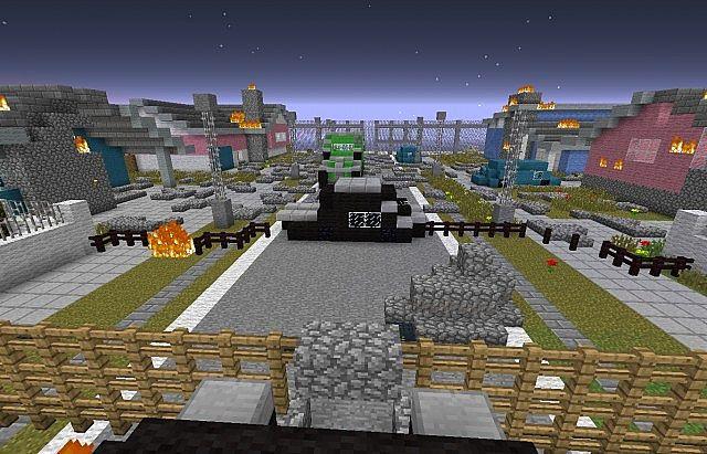 Craft of duty Black blocks ll Nuketown Zombies New update ...