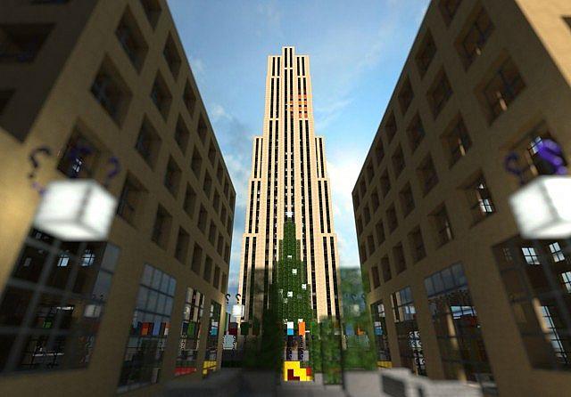 Guntana || Rockefeller Center Minecraft - 45.6KB