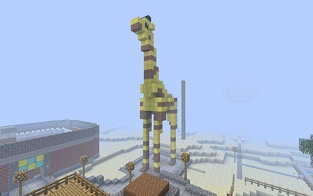 golden dirty giraffe minecraft project