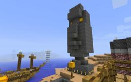 Moai Statue Minecraft Map & Project