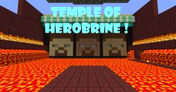 The Temple of Herobrine [Try it NOW!] Minecraft Project