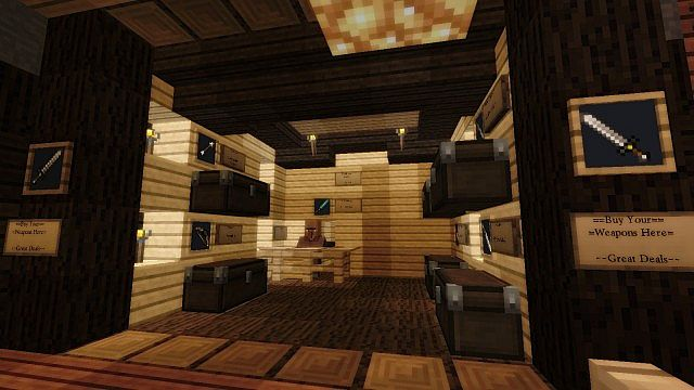 Ravine Village Fully Furnished Minecraft Project