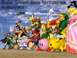 Super Smash Bros Texturepack [1.8.1] Minecraft Texture Pack