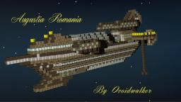 Augusta Romania: A Roman Warship Minecraft Map & Project