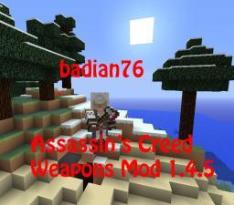 ModLoader 1.4.5 Assassin's Creed Weapons Mod Minecraft Mod