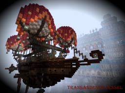 TranSandence Airship Minecraft Map & Project