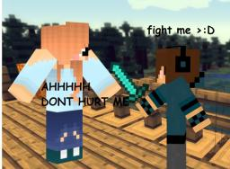 me and my server nooby-ness :3 Minecraft Blog
