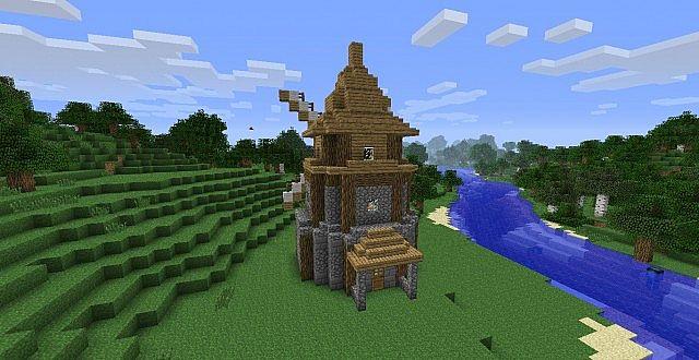 Medieval Windmill Minecraft Project