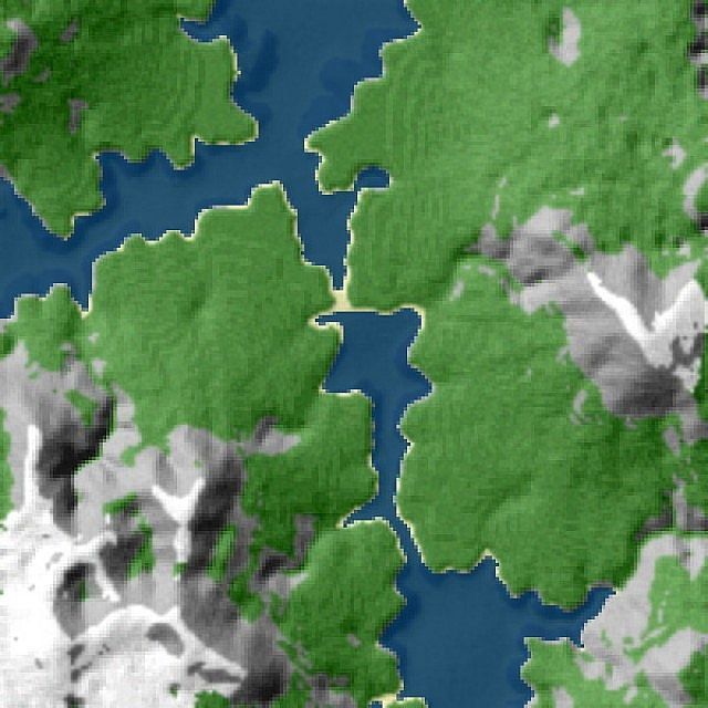Custom terrain ravenvale a realistic mountain map minecraft project overview gumiabroncs Images